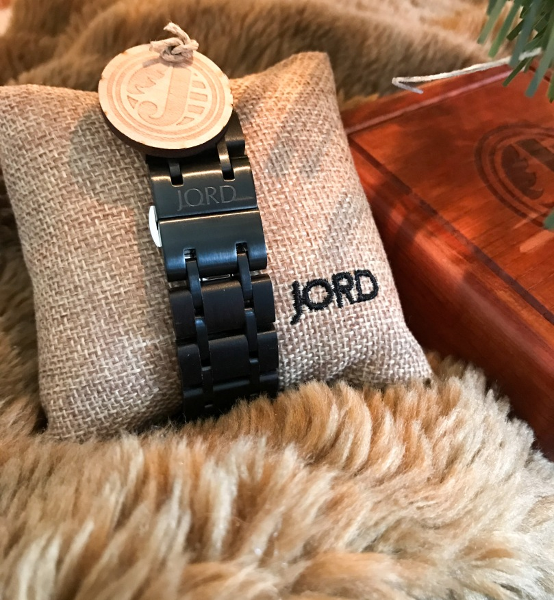 JORD Wood Watch Hyde Details Holiday 2017